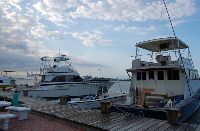 Fishing Vessels At Dock