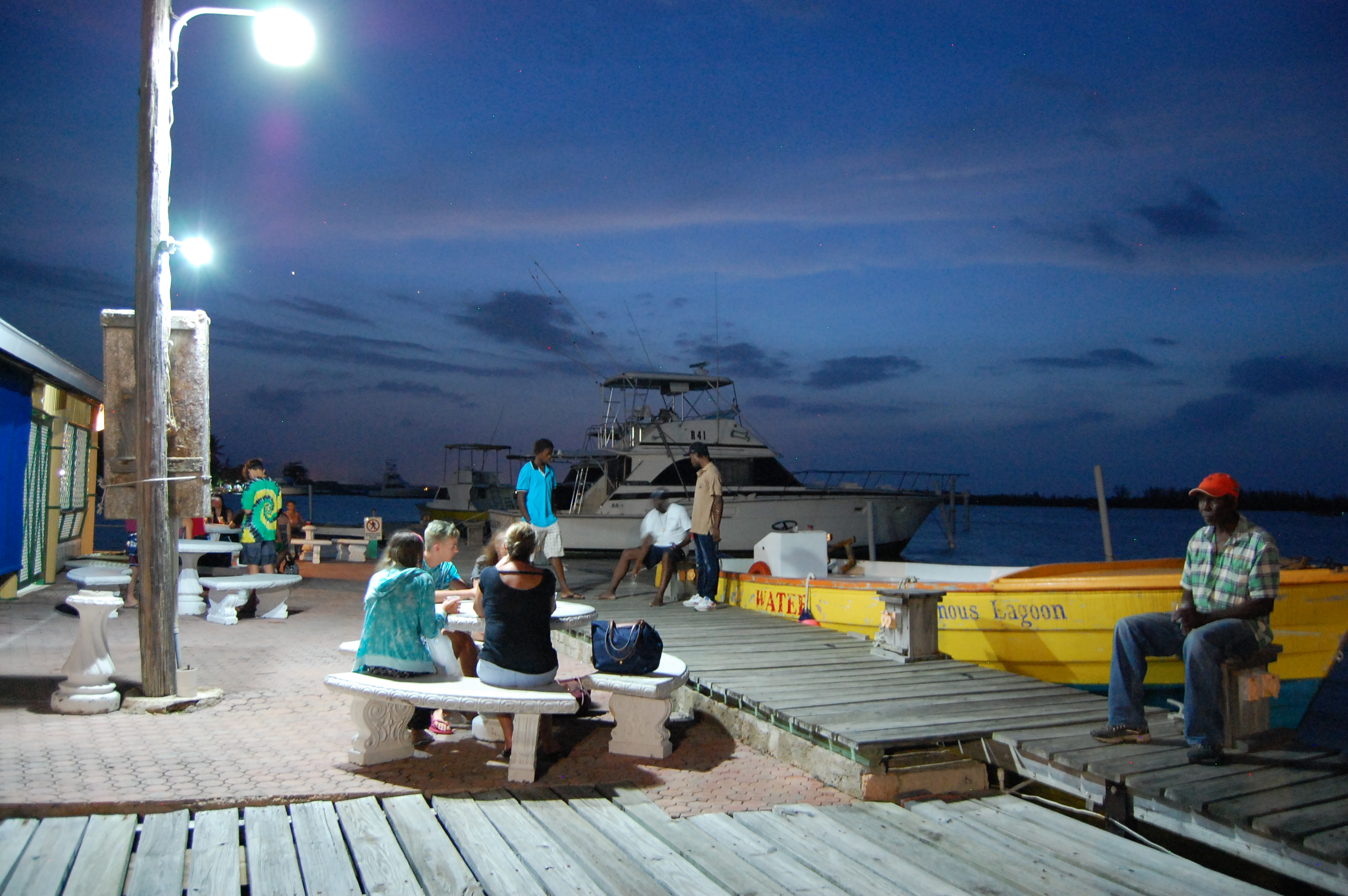 Boat Tour Marina & Dock