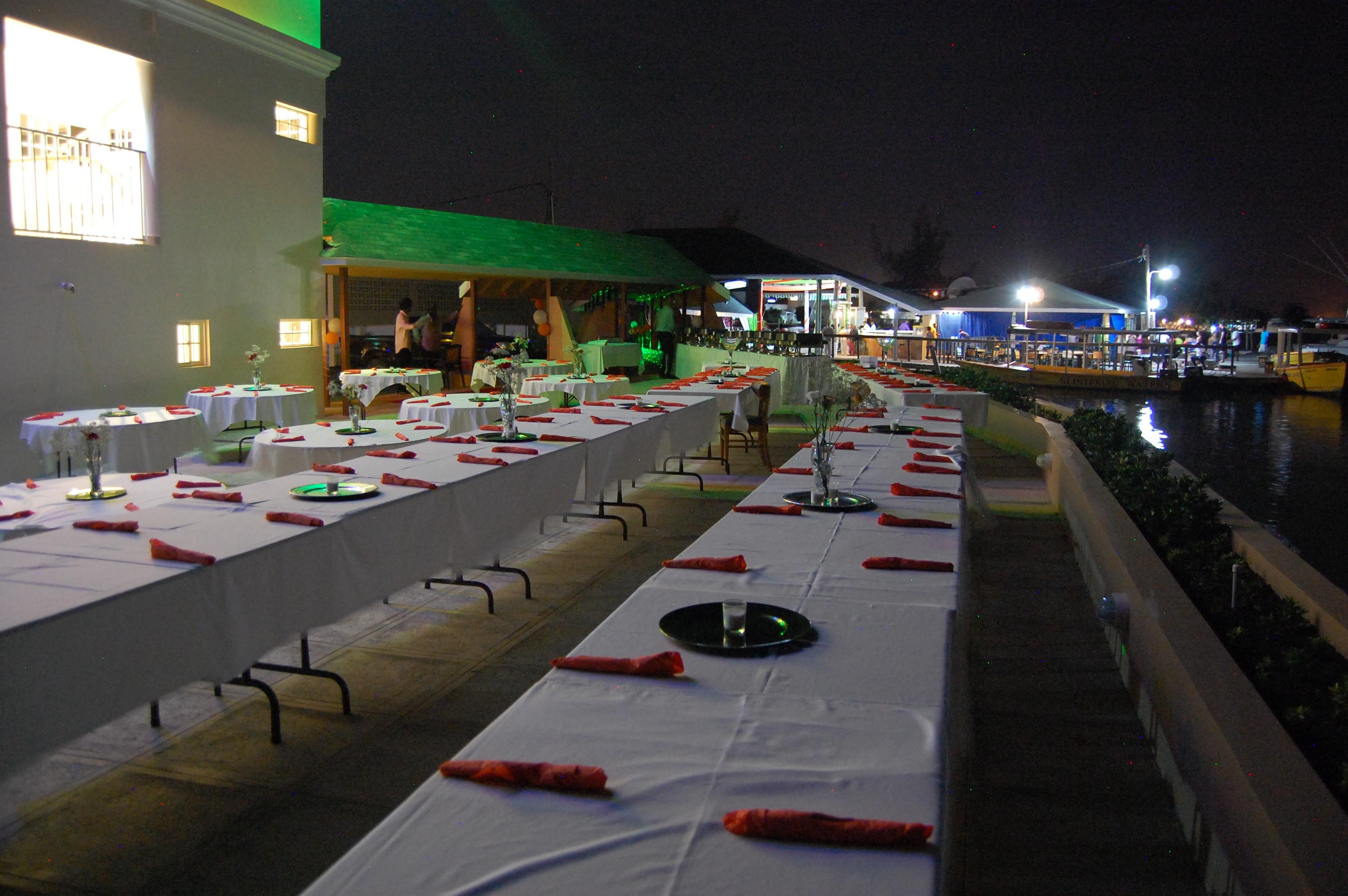 Outdoor Banquet Patio