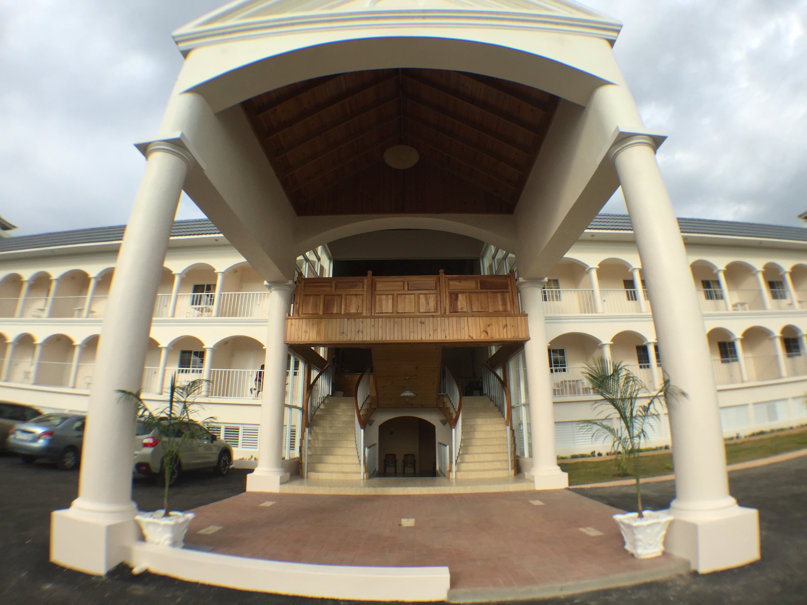 Glistening Waters Hotel Entrance