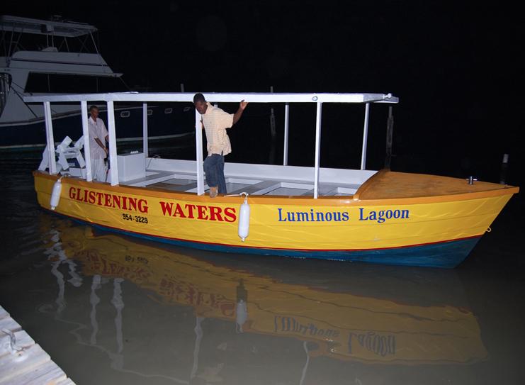 Lagoon Tour Boat