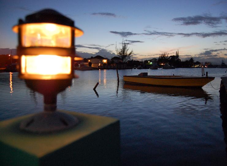 Bay At Night