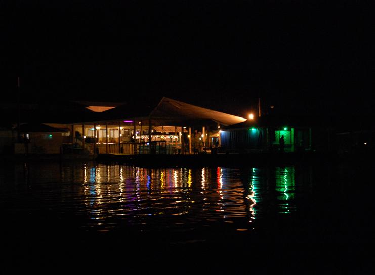 Glistening Waters At Night