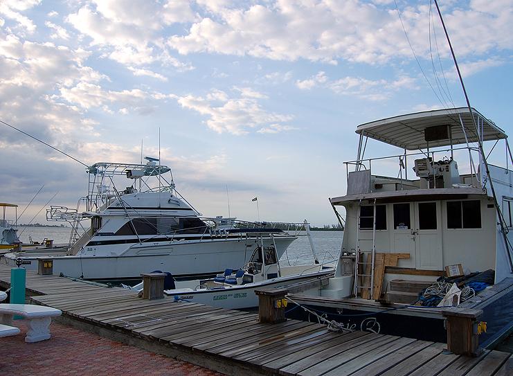 Deep Sea Fishing Boats