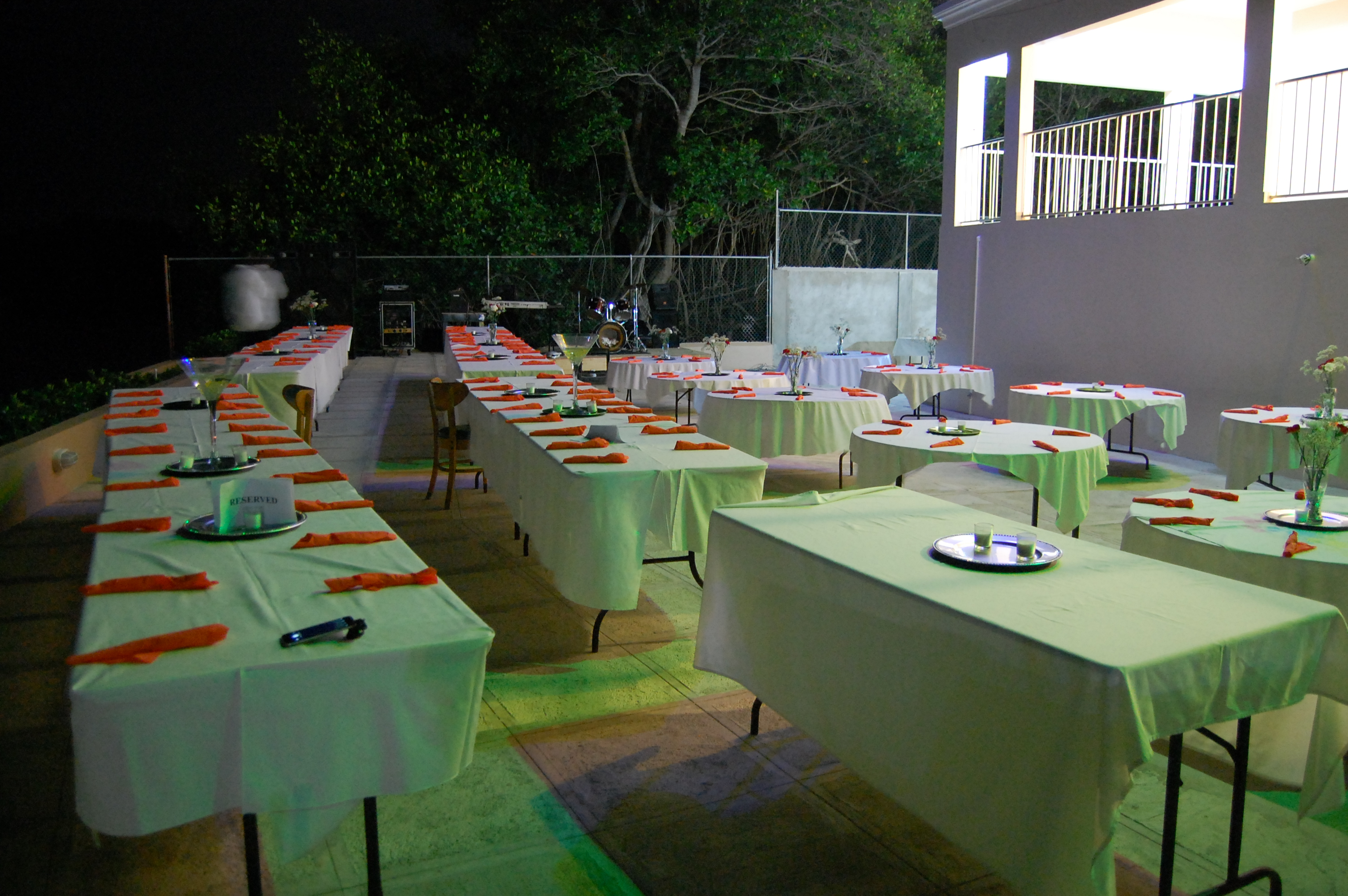 Outdoor Party Area