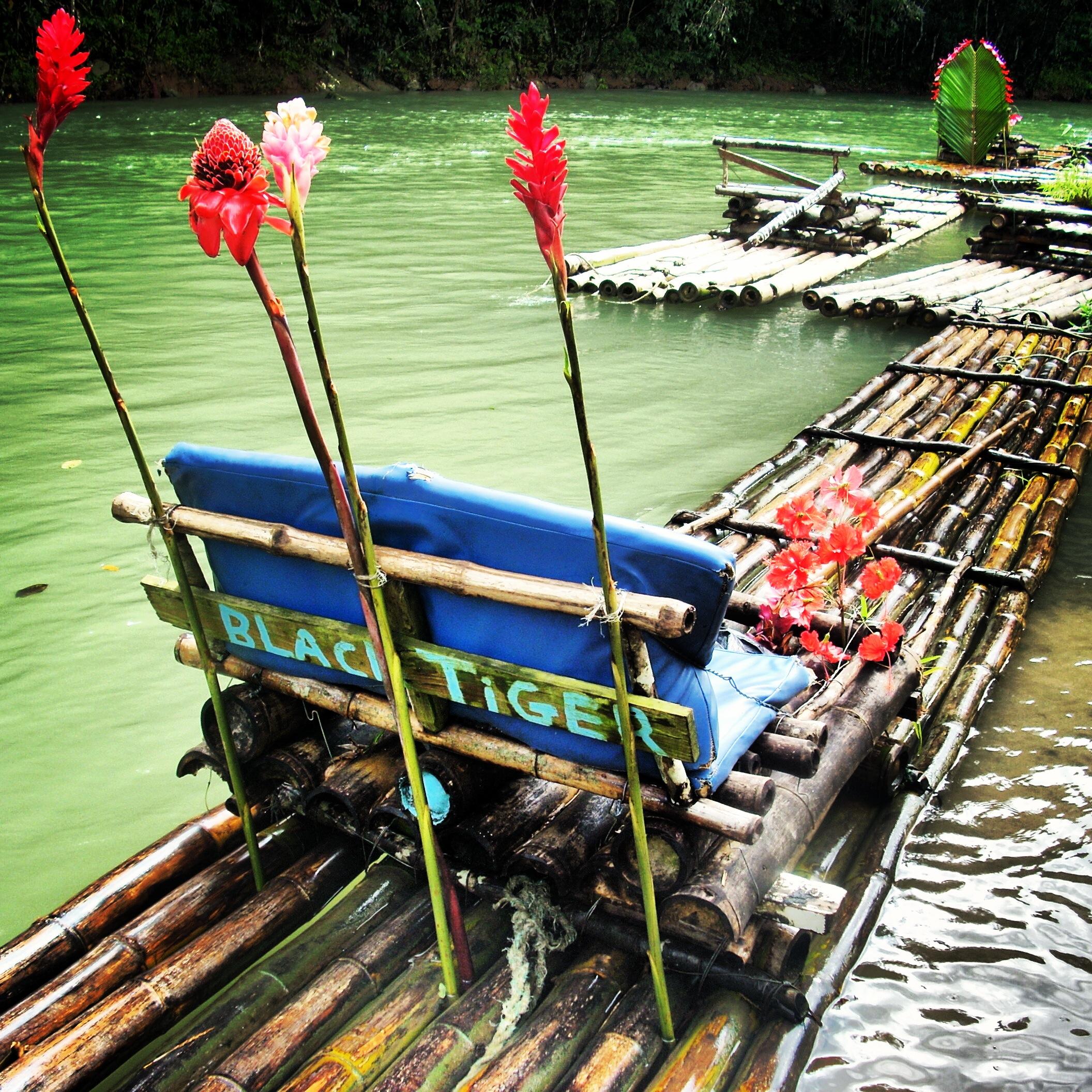 Rafting Martha Brae River