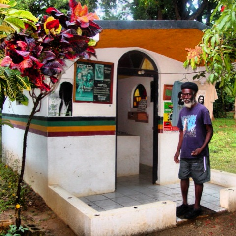 Peter Tosh Memorial in Jamaica